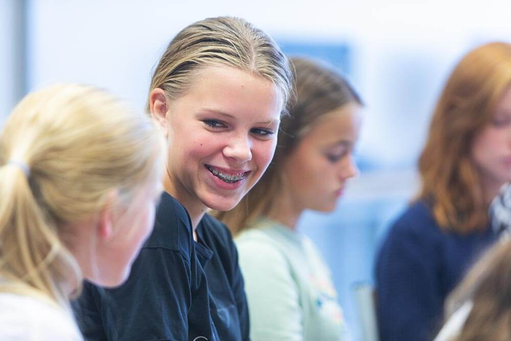 Meiden in de klas